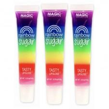 لیپ گلاس و برق لب میوه ای رنگین کمان دی سی مک LIPGLOSS DCMAC RAINBOW