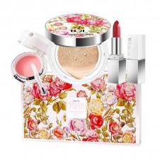 پک و ست ارایشی طرح رز سه تیکه تی دی ال TDL Rose Pure Beauty Set