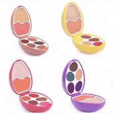 پالت سایه و رژگونه و هایلایتر تخم مرغی تویز multicolored eye shadow makeup