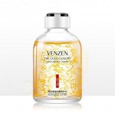 تونرطلا 24 جوان سازی و ضد چروک ونزن VENZEN 24K Gold Luxury Line Carving Toner Skin